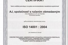 Certifikát-2